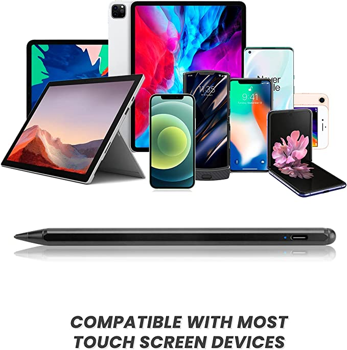Broonel Black Fine Point Digital Active Stylus Pen Compatible with ...