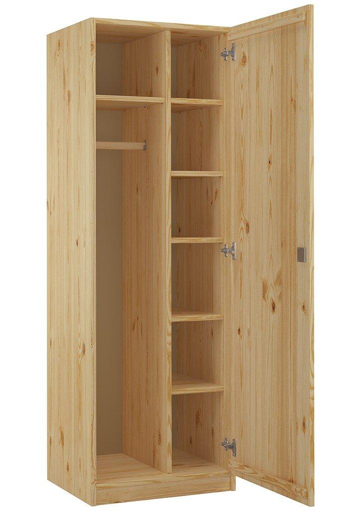 Erst-Holz® 90.60-42 Schrank Spind Eintürig Kiefer Massiv mit vielen ...