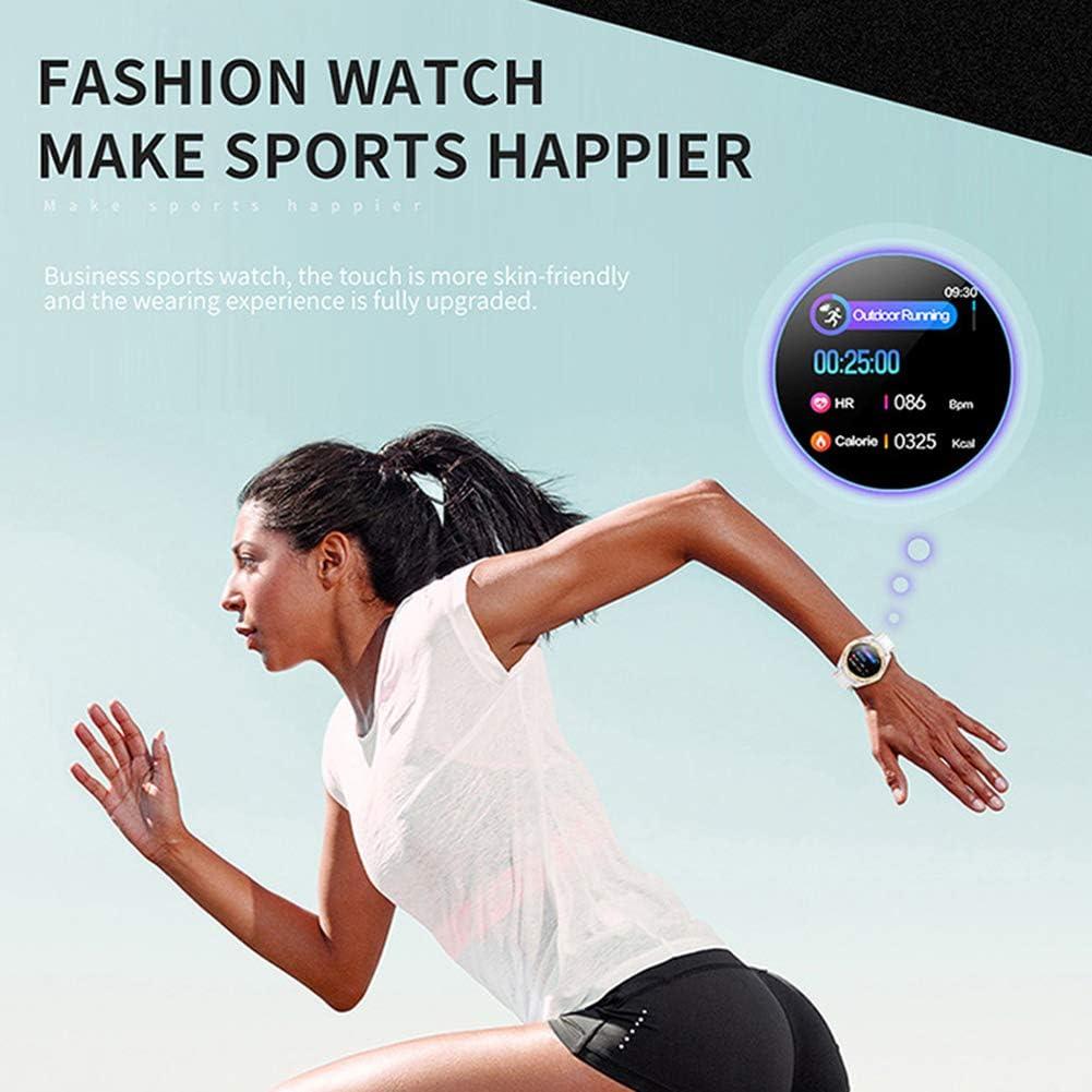 CETLFM Intelligente Sportuhr Für Den Außenbereich, Multifunktions-Sport-Schrittzähler, Stilvolle, Belüftete Uhr Mit Großem Zifferblatt,C A