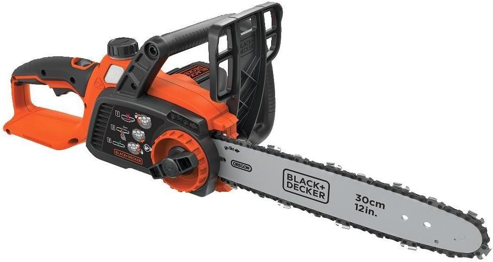 BLACK+DECKER LCS1240B 12-Inch Lithium Ion Chainsaw, 40-volt, Baretool (Renewed)