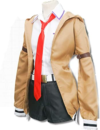MUXIXI Escudo y el Anime Cosplay Brown Camisa Blanca Varios Uniformes Accesorios Cosplay Juego Completo de Halloween, Full Set-S: Amazon.es: Hogar