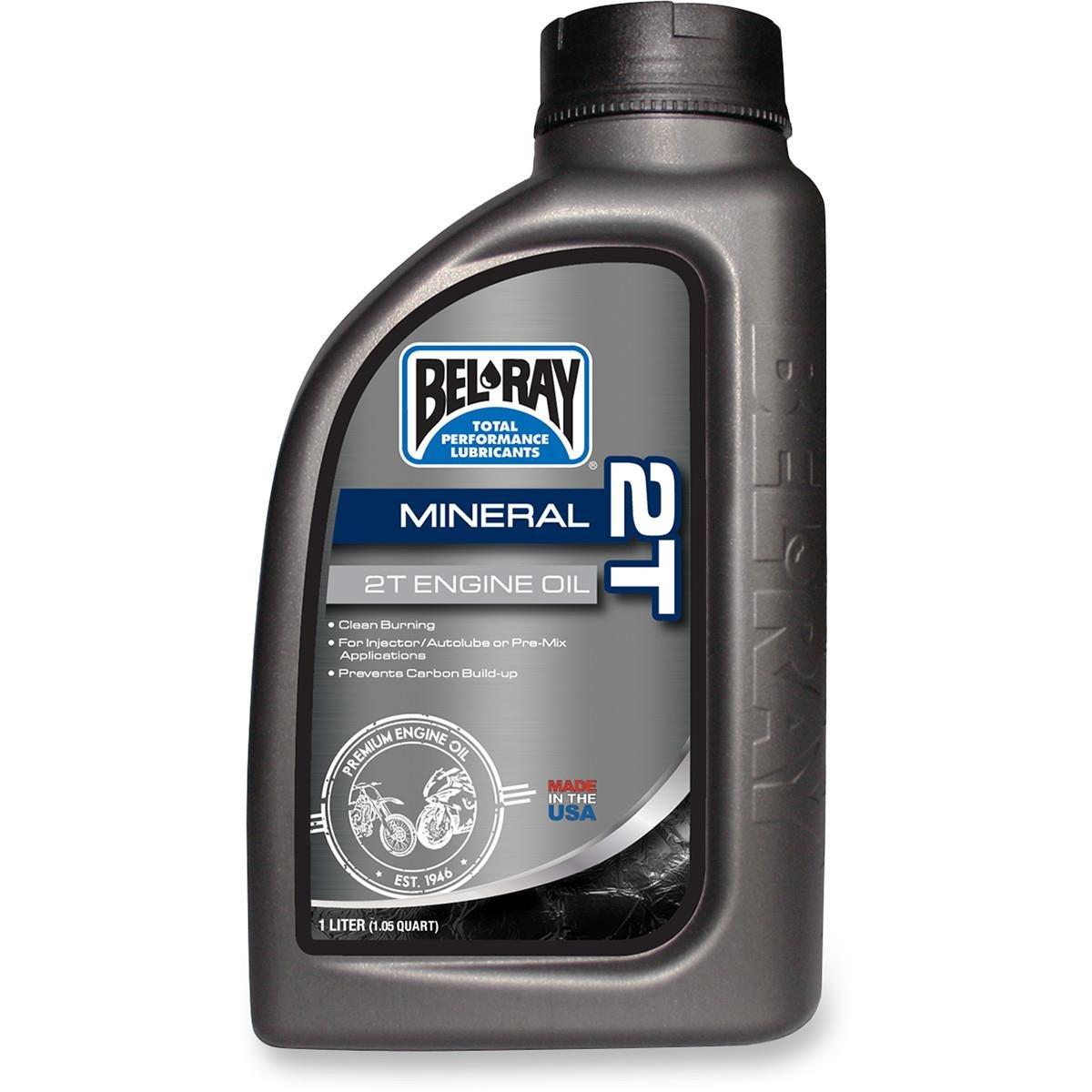 Bel-Ray 2T Mineral Engine Oil - 1L. 99010-B1LW (1) 3602-0055* 620015