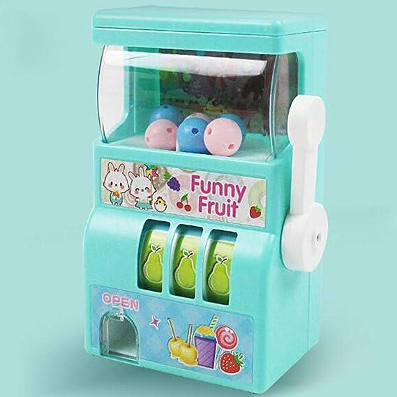 Meiyiu Mini Bingo Cage Lucky Fruit Bingo Cage Juego de Mesa de ...