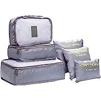 DoGeek Packing Cubes Koffer Organizer Packwürfel 8-teilig Kleidertaschen Verpackungswürfel Organizer Ideal für Seesäcke, Handgepäck