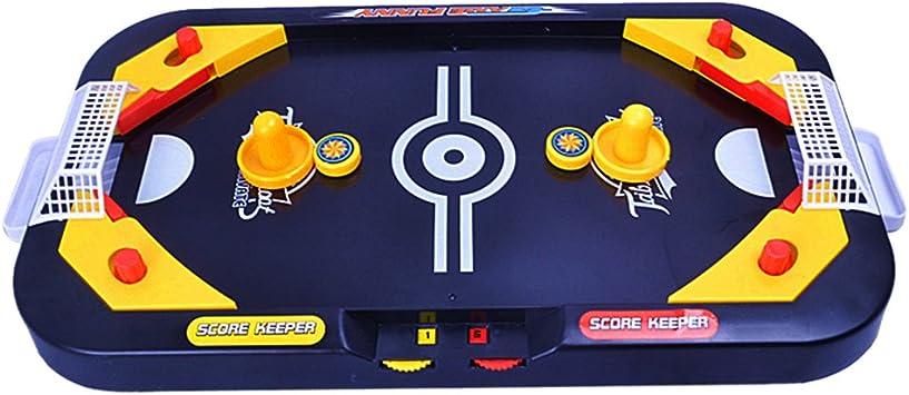 2 En 1 Juguetes Juegos de Mesa Batalla Disco Hockey Aire Interactivo Niños: Amazon.es: Juguetes y juegos