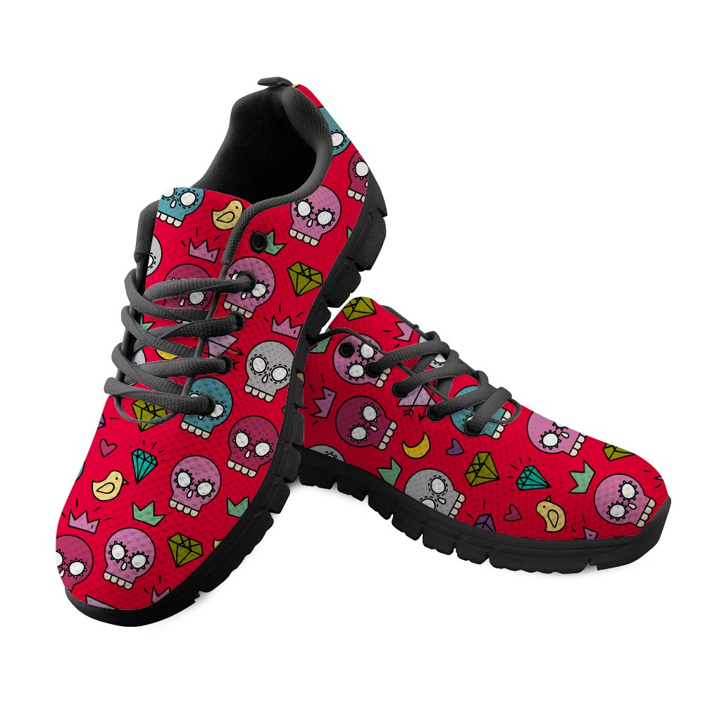 Freewander 3D Animal Customized Women Tennis Sneakers Shoes Air Sport Shoes