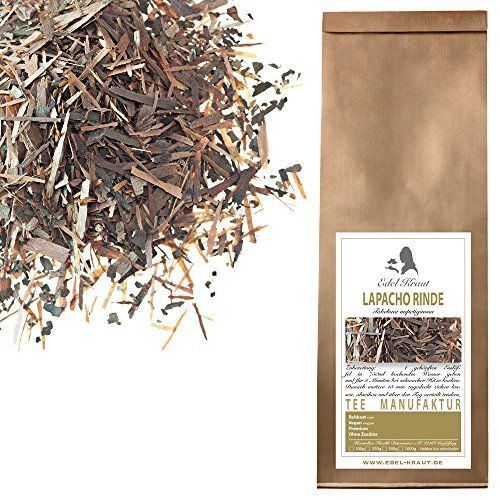 EDEL KRAUT | Lapachorinde Tee geschnitten WILDSAMMLUNG - Premium Lapacho Tea - 250g