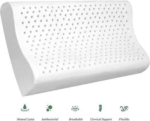 Thailand Cervical Natural Latex Pillow Neck Pain Organic Contour Cushion Soft