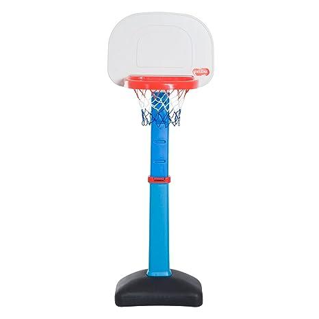 Homcom Canasta de Baloncesto Ajustable Portátil Cesta ...