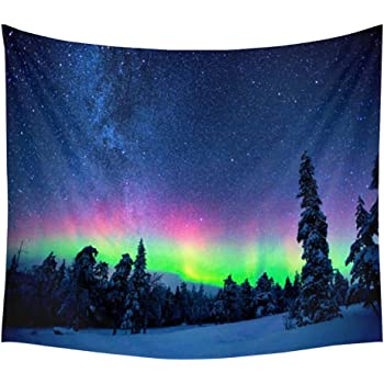 Messagee Beauty of Aurora Tapestry Wall Hanging Indian Wall Art