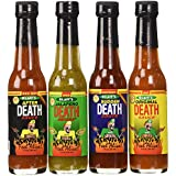 Hot Sauce, Gift Set, Blair's Mini Death Hot Sauce 4-Pack 2.oz Bottles