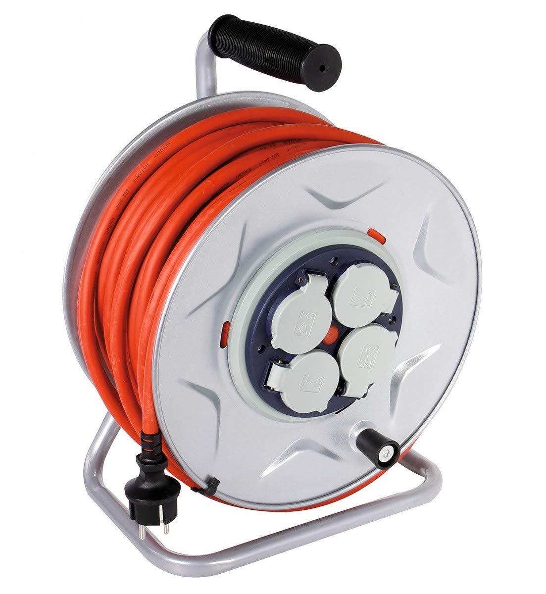 HO7 RN-F 3G 2,5 mm/² Enrouleur professionnel moyeu fixe Dhome Longueur 25 m
