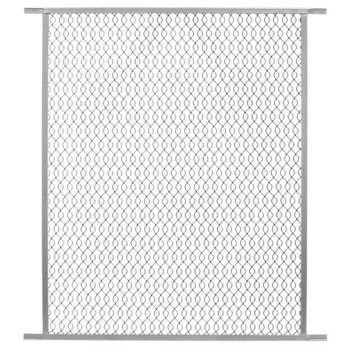precision screen & security prod 2384ml 30'W x 33'H, Gray, Aluminum Pet Grille [並行輸入品]   B06WRN9L7X
