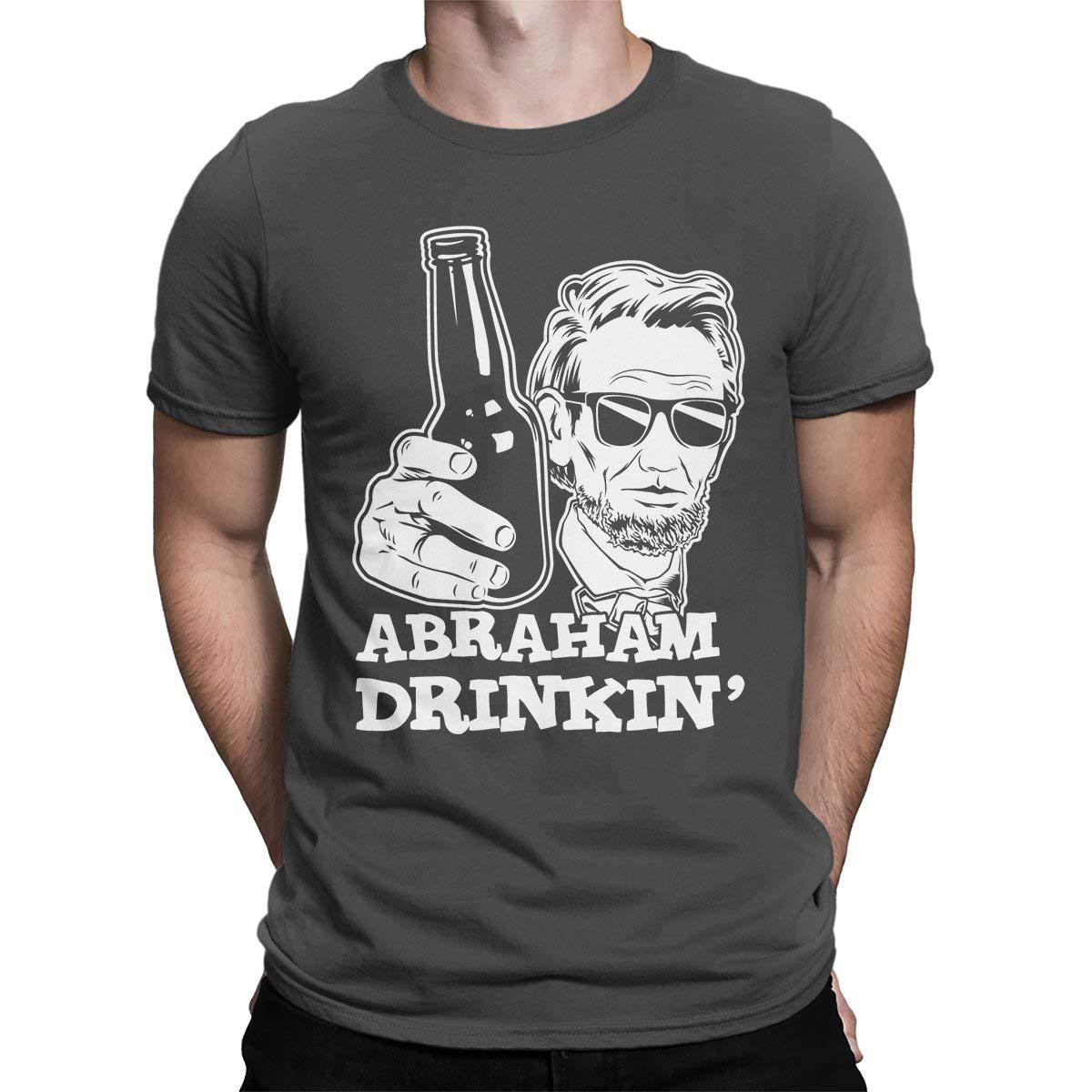 Kilsd Abraham Drinkin Mens T-Shirt