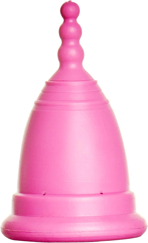 Loovara Set de Copa Menstrual, Detergente Esterilizador, Bolsa | 100% Natural y Vegano | Taza de Goma de Comercio Justo, Sin Silicona, Reutilizable, ...