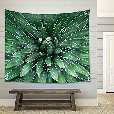 Created Just For You, Incredible Expert Craftsmanship, Sharp Pointed Agave Plant Leaves Fabric Wall