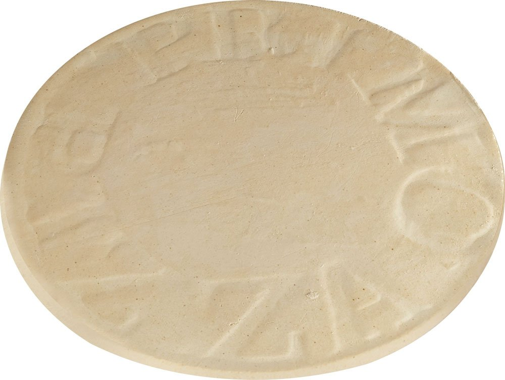 16in Natural Finish Ceramic Baking Stone for XL 400 LG 300 and Kamado by Primo Ceramic Grills