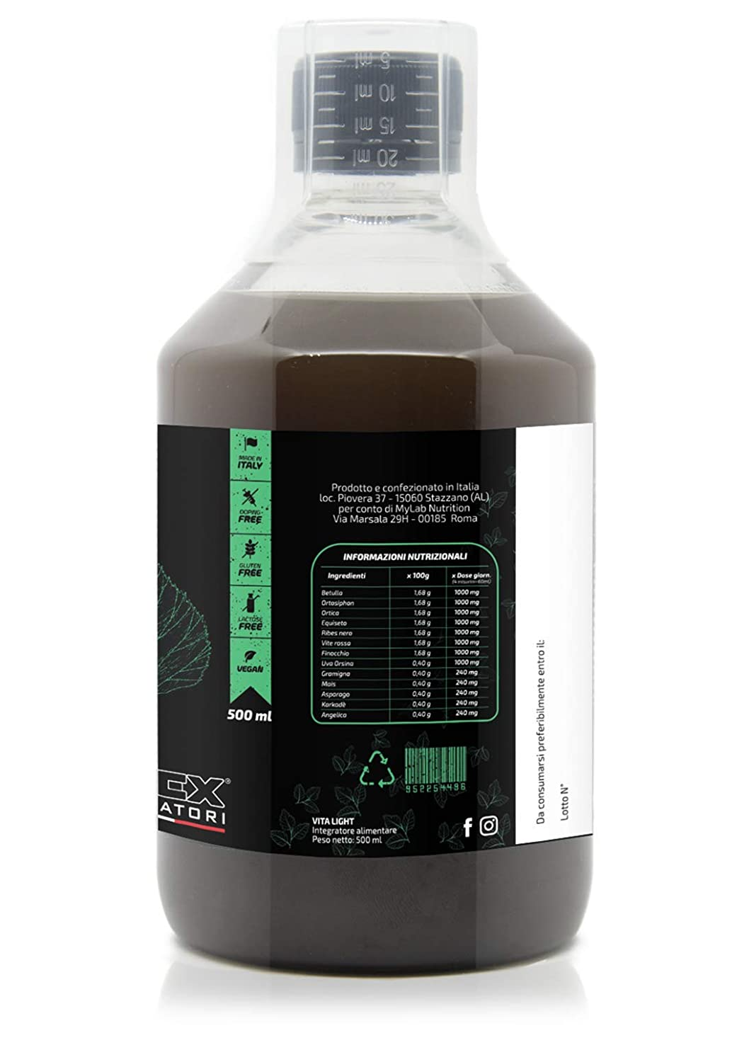 Drenaje natural VITA LIGHT | Desintoxicación (Detox) 500ml ...