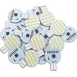 20x GRV T10 LED Light Bulb 921 194 192 C921 24-2835 SMD Super Bright Lamp DC 12V 2 Watt For Vehicle Boat Ceiling Dome…