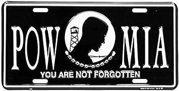 Honor Country POW MIA License Plate Frame