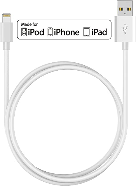 1m Apple MFi Certified Lightning 8pin to USB Charge and Sync Cable iPhone iPad