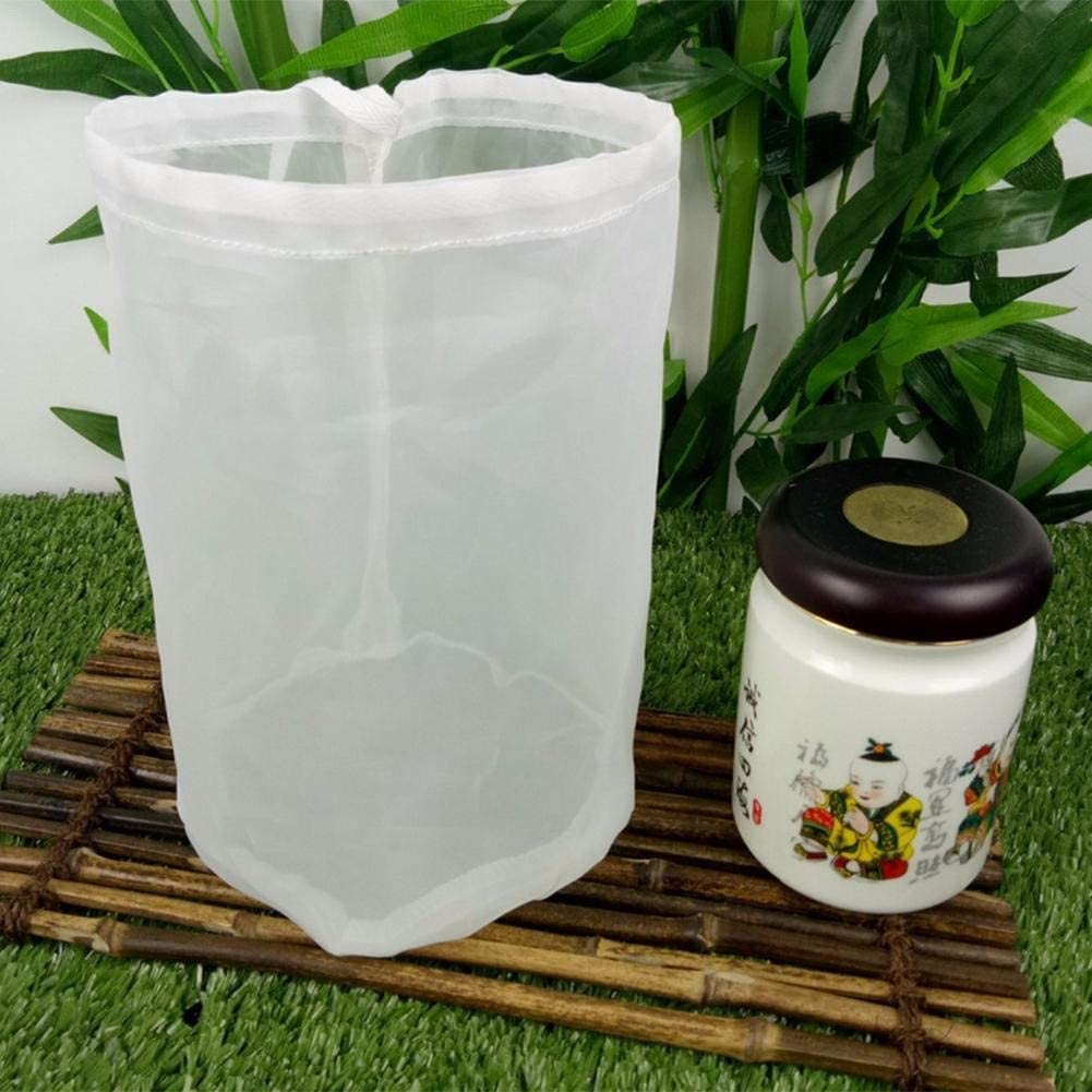 Sac Tissu passoire passoire Tissu filtrant Finement tiss/é CARTEY Sac /à Lait v/ég/étal de Fibres de Chanvre pour Lait de Noix ou d/'Amande v/égane//Sac /à Lait de Noix