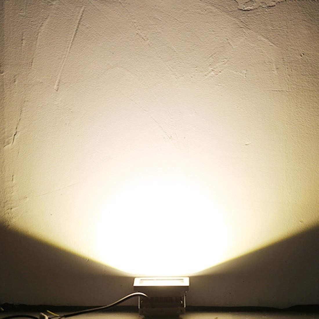 Yfymk 50W 6000LM Life Waterproof 50 LED SMD-3528 Floodlight Lamp 27.422.94.3cm Color : White Light AC 85-265V Size