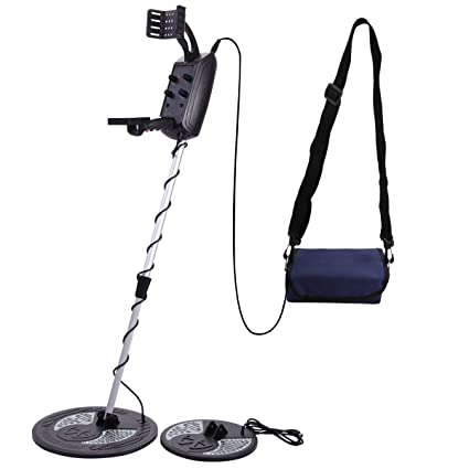 Amazon.com : JAXPETY Metal Detector Deep Sensitive Search Gold Digger for Gold Coins Relics MD-5008 -W/Waterproof Search Coil : Garden & Outdoor