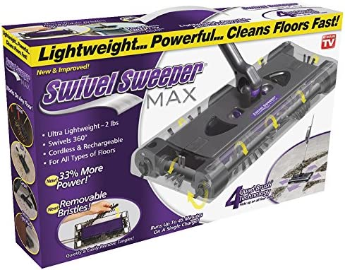 Ontel SWSMAX Swivel Sweeper Purple product image