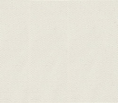 Waterproof Fabric Canvas Solid Ivory Indoor Outdoor / 60