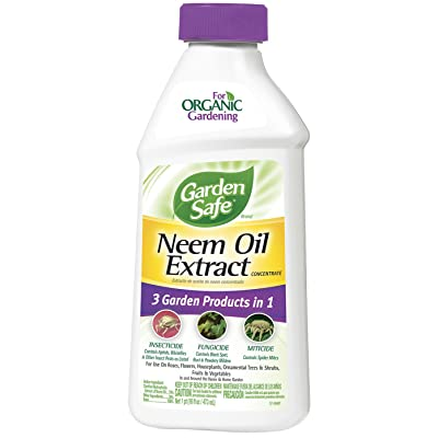 Garden Safe HG-83179 16-Ounce Neem Oil