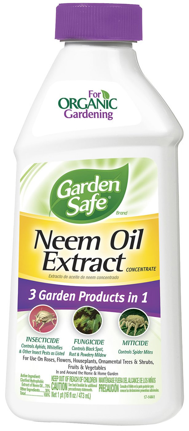 Amazoncom Garden Safe Neem Oil Extract Concentrate HG 83179