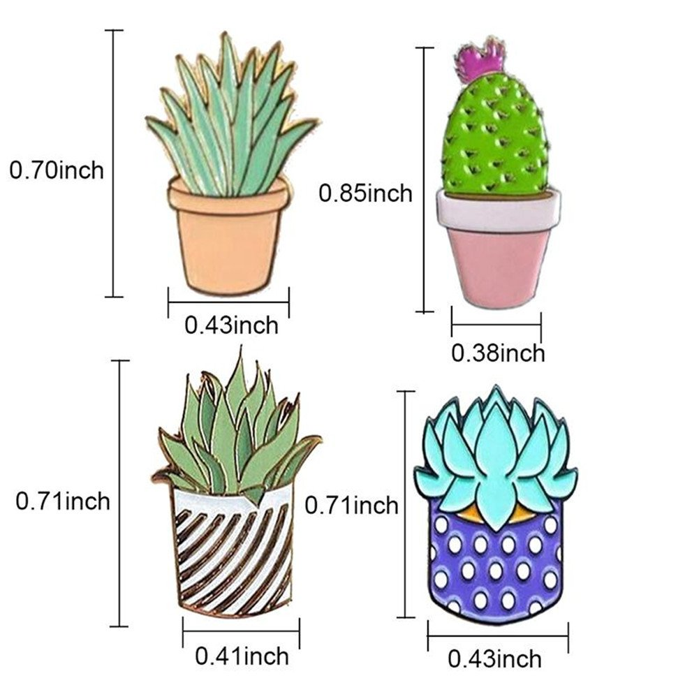 Gallopjoy 1pc Creative Cute Cactus Lotus Flower Grass Aloe Vera