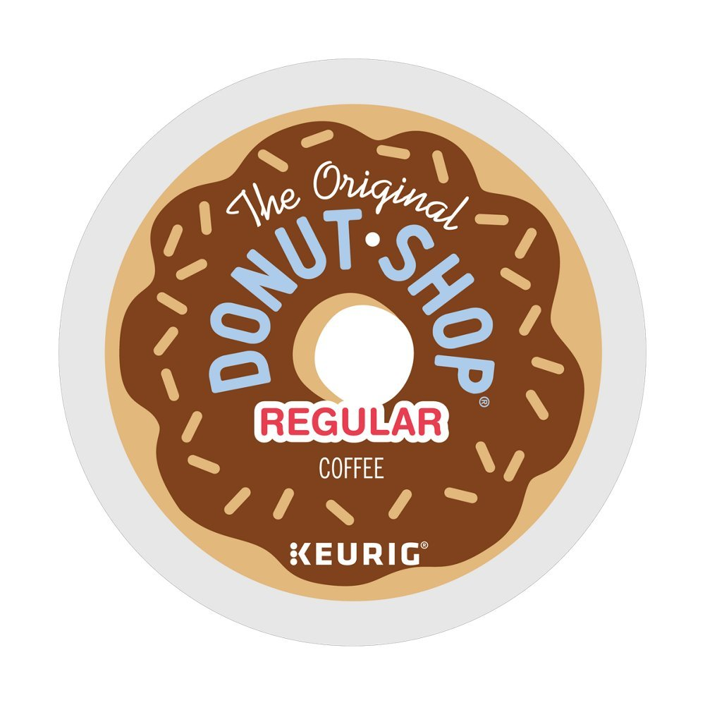 The Original Donut Shop Keurig Single-Serve K-Cup Pods, Medium Roast Coffee, 144 Count