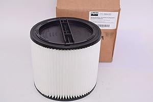 """Dayton Filter, Dry, Cartridge Filter, Paper, 6-1/2"""", White"""