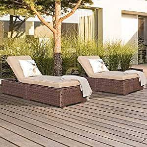 61R4npxamqL._SS300_ 50+ Wicker Chaise Lounge Chairs