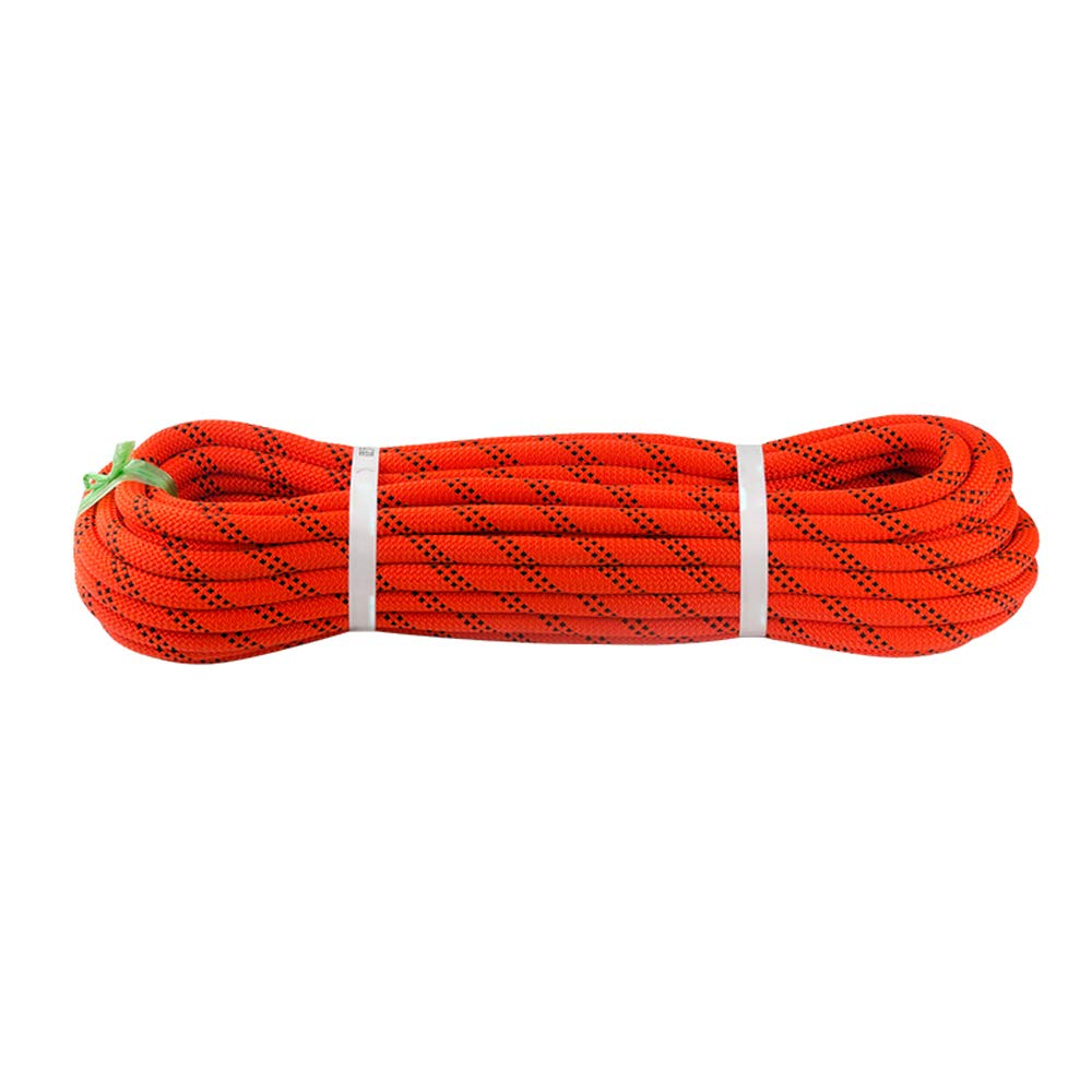 FITIN Kletter-Rope, 10m 20m 30m 40 40 40 m 50m Outdoor Professional Climbing Abseiling Rope Home Safety Rope Emergency Fire Rescue Rappelling Surviva Durchmesser 11mm,Weiß,14mm 10M B07M72VL21 Einfachseile Britisches Temperament fe3dc1