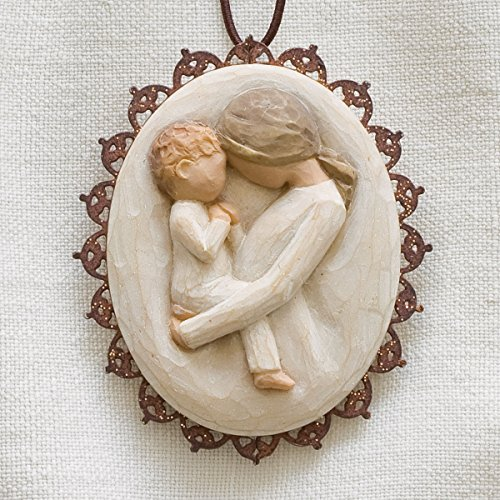Willow Tree Hanging Ornament with S-hook (Tenderness Metal-edged, 26214)