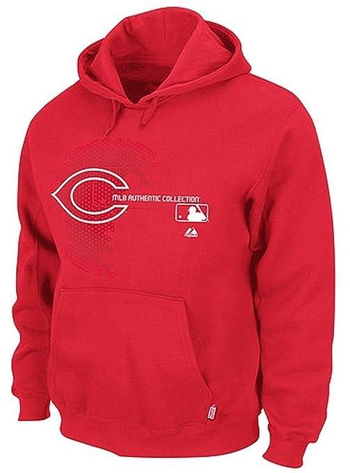 super popular a2730 fc103 Amazon.com : Majestic Cincinnati Reds MLB Mens Authentic On ...