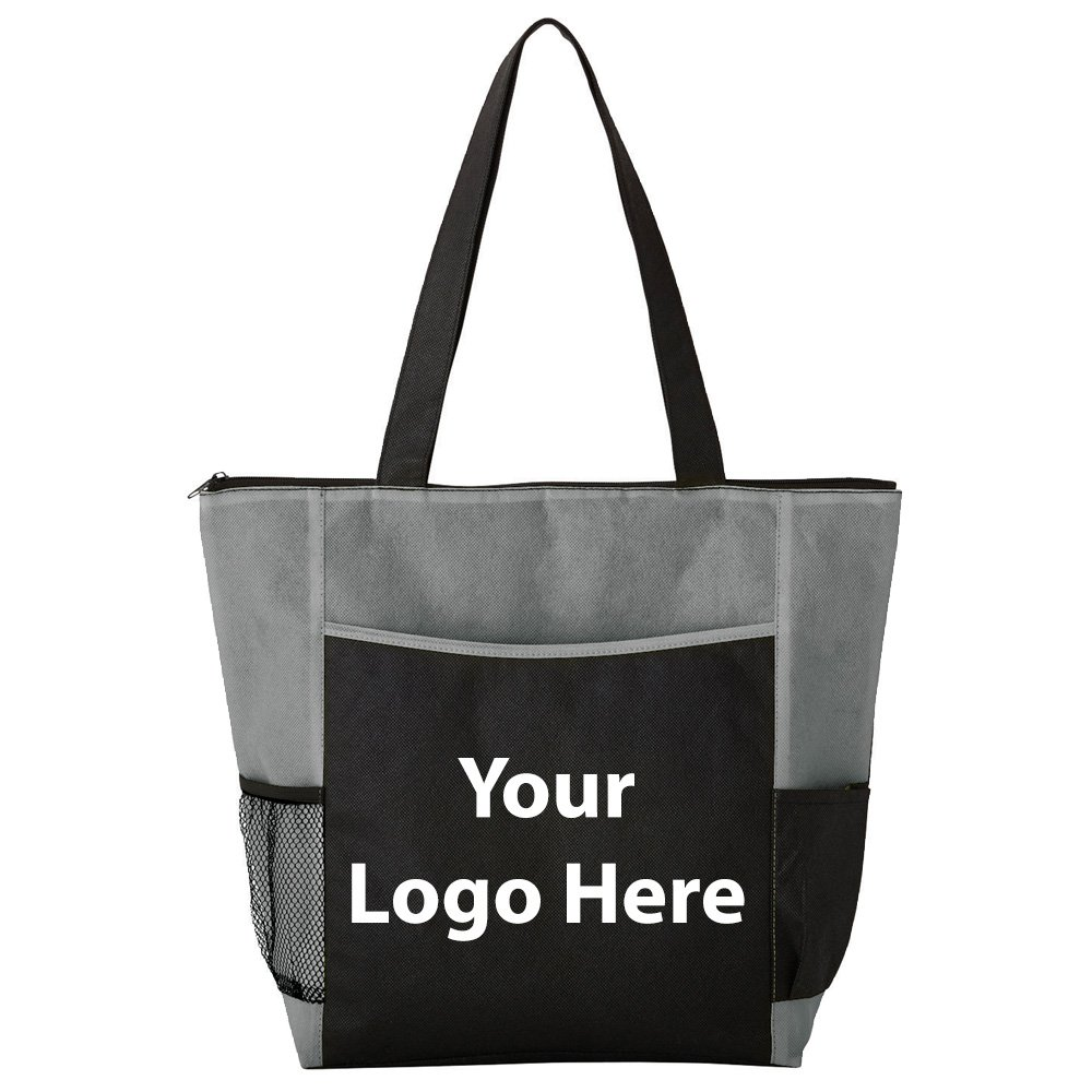 Heights Business Tote - 125 Quantity - $3.45 Each - PROMOTIONAL PRODUCT / BULK / BRANDED with YOUR LOGO / CUSTOMIZED