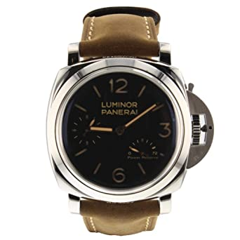 pretty nice 24fc5 e0720 Amazon | Panerai Luminor 1950 メカニカル手巻きメンズ腕時計 ...