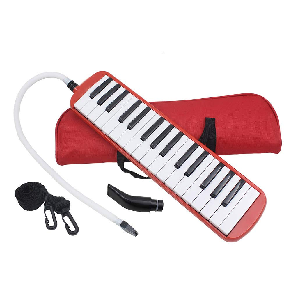 Whryspa 32 Key Melodica/Piano with Bag (ME32) Easy to Control, Suitable for Teaching, Performance, Piano Enlightenment