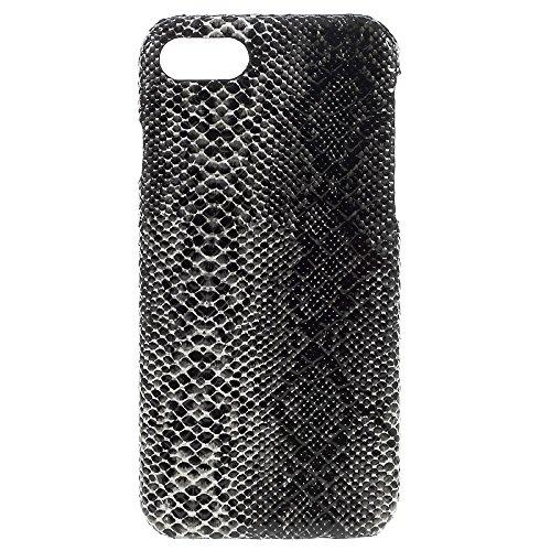 "Apple iPhone 7 4.7"" Handy Tasche Hard Case Snake Skin Schlange Muster Schale Cover Hülle Bag"
