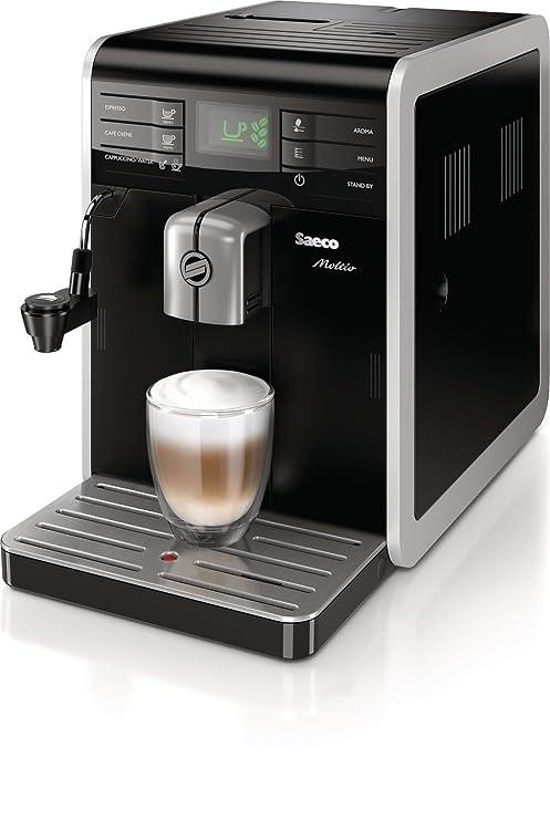 Saeco Moltio HD8768/08 - Cafetera (Independiente, Máquina espresso ...