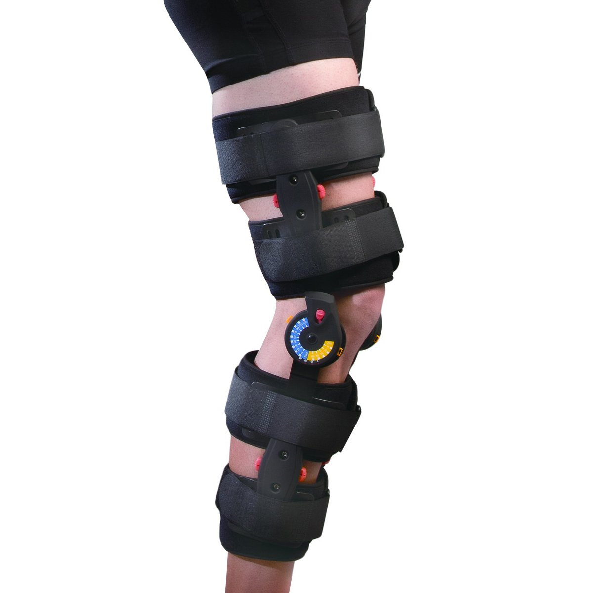 Orthomen Medical Post-operative Knee Brace - (Size: Universal) Knee Supporter Therapy Knee Pain Knee Protection