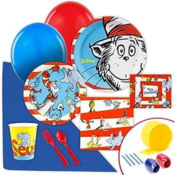 Dr Seuss Party Supplies - Value Party Pack Bundle