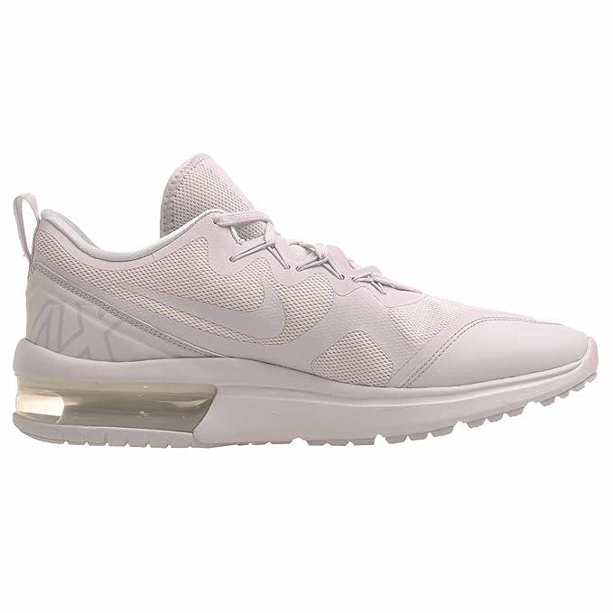 Nike AIR MAX Fury–Chaussures Sportives, homme, blanc–(White/Vast grey-pure Platinum)