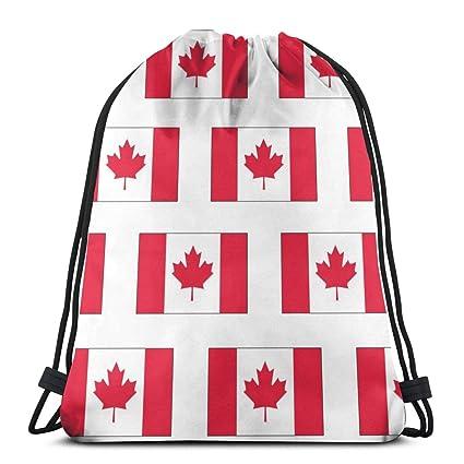 Canadian Flag_1047 Mochila con cordón Mochila Mochilas ...