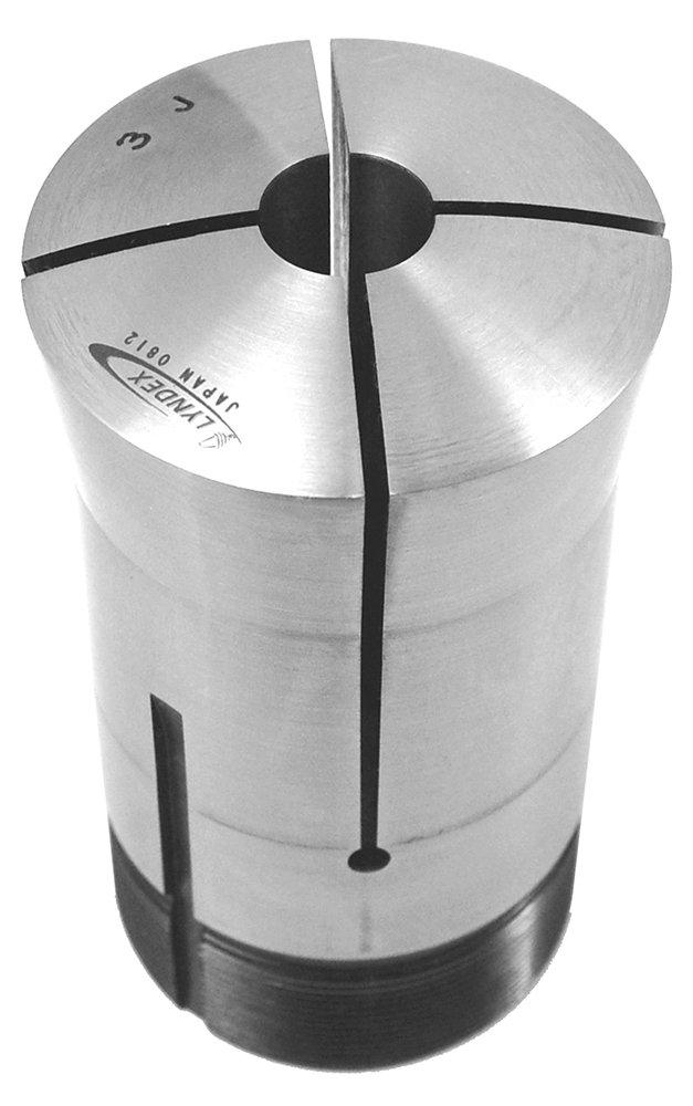 Lyndex 300-100 3J Round Collet 2.20 Top Diameter 2 Bottom Diameter 1-9//16 Opening Size 3.75 Length