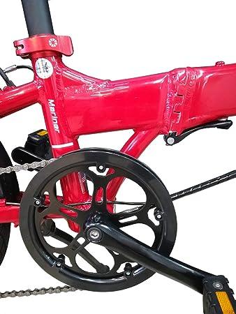 Dahon Mariner D8, Bicicleta Plegable Unisex Adulto, Rojo, 20 ...